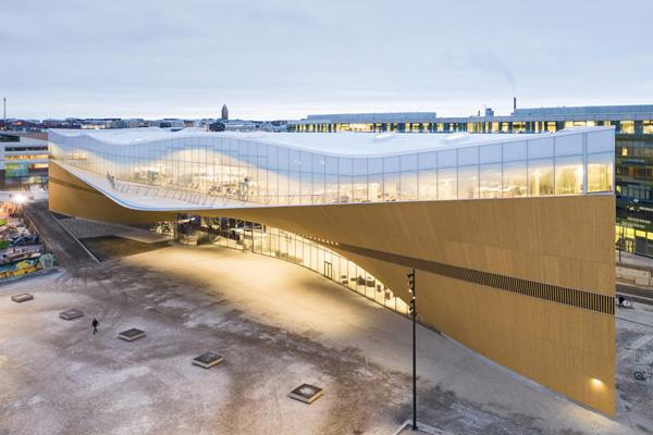 Siharak O - referenssit - Oodi kirjasto - Helsinki